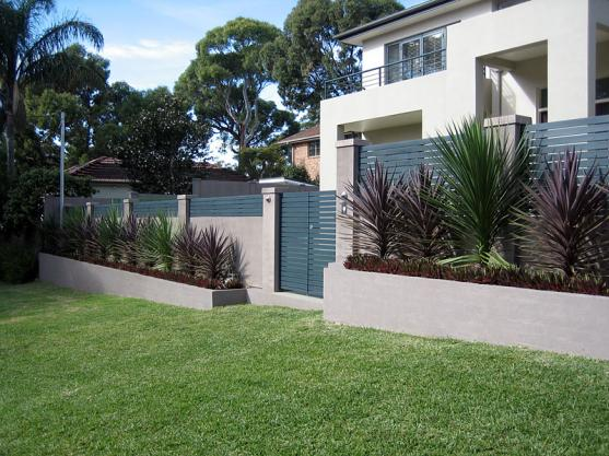 Block walls offer permanent protection for your pets and are easy to ...