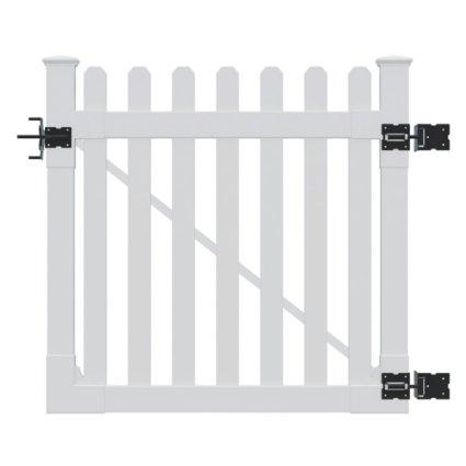 WamBam Vinyl picket fence gate