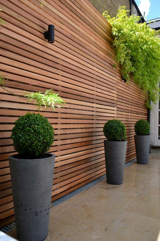 wooden fencing ideas garden ideas to hide fence